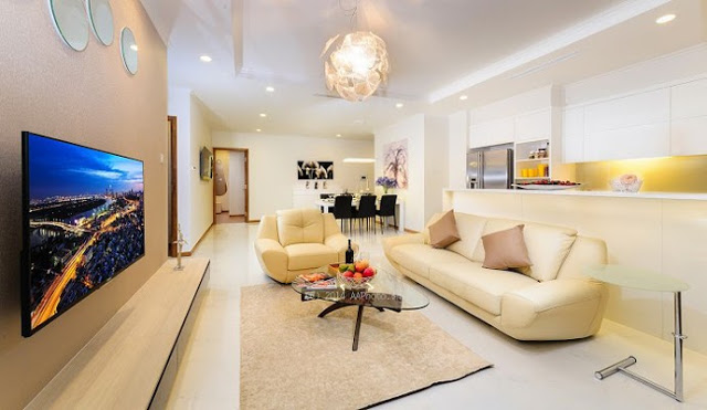 Phòng khách Tham Khảo - Căn hộ mẫu Vincity Quận 9