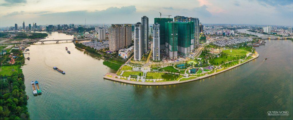 Hình ảnh dự án Vinhome Central Park