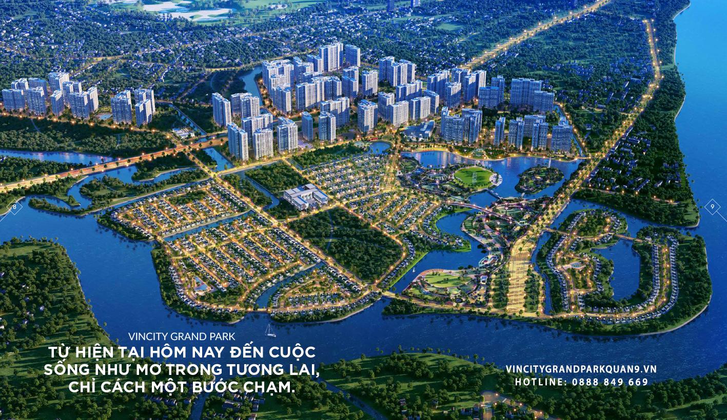 Phối cảnh Quy hoạch Vincity Quận 9 - Vincity Grand Park