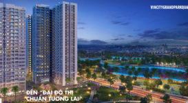 Quý 3/2019 căn hộ Vincity Grand Park Q9 đầu tiên được mở bán
