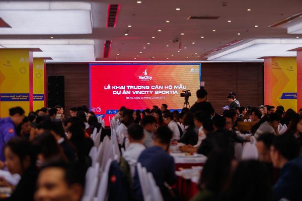 Hình ảnh khai trương nhà mẫu VinCity Sportia - Hà Nội