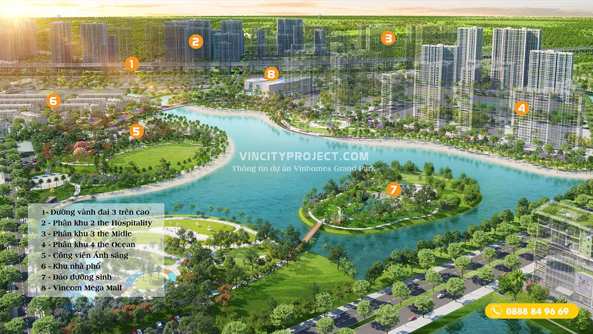"""Vinhomes Grand Park nổi bật như một """"dấu ấn xanh"""" độc đáo trên bản đồ TP. Hồ Chí Minh"""