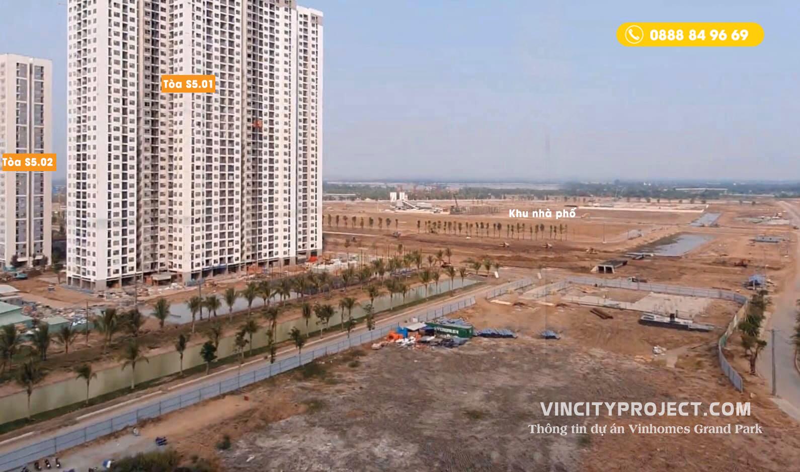 View căn hộ nhìn từ khu S3