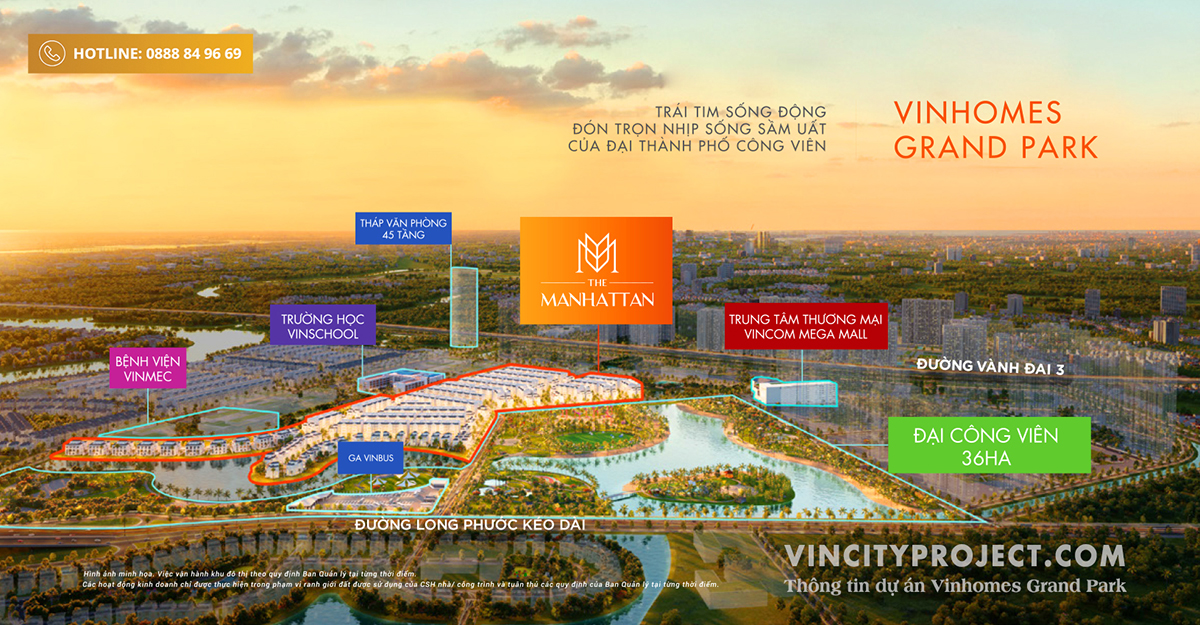 The Manhattan - Vinhomes Grand Park
