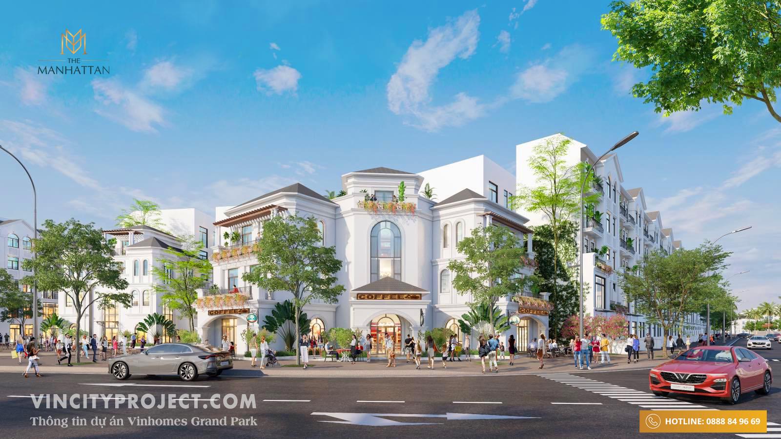 Nhà phố thương mại Vinhomes Quận 9