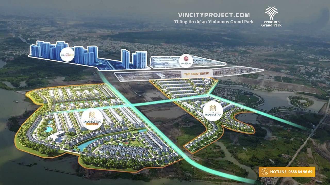 Tổng thể Vinhomes Grand Park cập nhật 07/2020 mới nhất